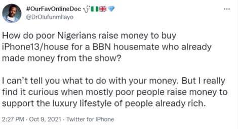 raise money for ex-BBN housemates