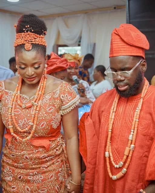 Secondary schoolmates get married